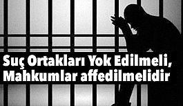 Suç Ortakları Yok Edilmeli, Mahkumlar affedilmelidir