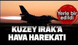 TSK'dan Kuzey Irak'ın Zap ve Avaşin-Basyan Bölgelerine Hava Harekatı
