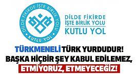 Türkmeneli Türk Yurdudur!