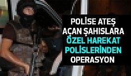 Yüzü Maskeli Cezaevi Firarisi ve Arkadaşı polise Ateş Açtı