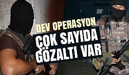 Adana Merkezli PKK'ya Yönelik Dev Operasyon!