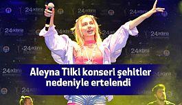 Aleyna Tilki Bolu konserini Erteledi