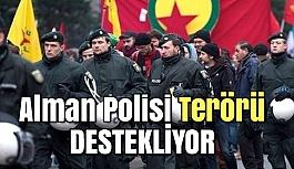 Alman Polisinden PKK'lılara Destek Mesajı
