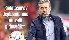 """Aykut Kocaman: """"Galatasaray deplasmanına moralli gideceğiz"""""""