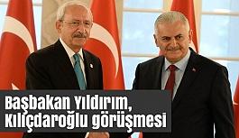Başbakan Yıldırım, Kılıçdaroğlu görüşmesi