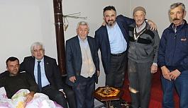 Başkan Salih Hızlı, Hakkari'de yaralanan askeri ziyaret etti
