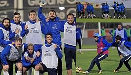 Bordo-mavililer Kayserispor maçının hazırlıklarına başladı