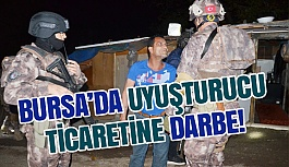 Bursa Mudanya İlçesinde Uyuşturucu Operasyonu