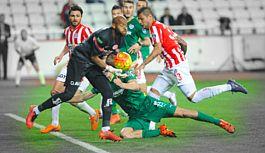 Bursaspor'da golcüler sınıfta kaldı