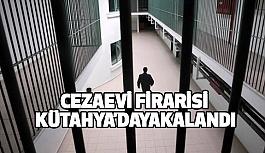 Cezaevi Firarisi Kütahya'da Yakalandı