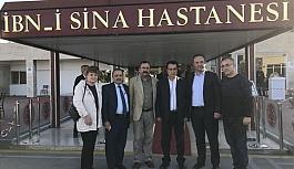 CHP Samsun İl Başkanı Akcagöz'den Baykal Ziyareti
