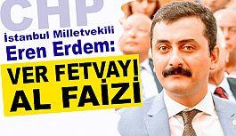 """CHP'li Eren Erdem: Diyanet """"Haram"""" a El Uzattı"""