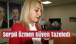 Devrek AK Parti Kadın Kolları Başkanı Serpil Özmen Güven Tazeledi