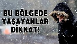 Dikkat! Kar Geliyor...
