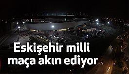 Eskişehir milli maça akın ediyor