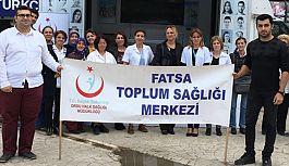 Fatsa'da Dünya Yürüyüş Günü...