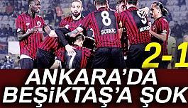 Gençlerbirliği 2-1 Beşiktaş
