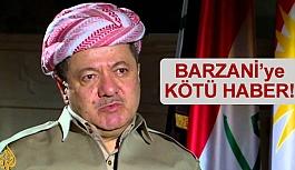 IKBY Başkanı Barzani'ye Kötü Haber