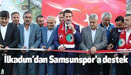 İlkadım'dan Samsunspor'a Alt Yapı Desteği