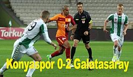 Konyaspor 0-2 Galatasaray; İşte Maç Özeti