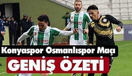 Konyaspor 1-0 Osmanlıspor (Maç Özeti)