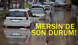 Mersin'de Silifke İlçesi Sular Altında