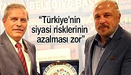 """Mete Yarar: """"Türkiye'nin siyasi risklerinin azalması zor"""""""