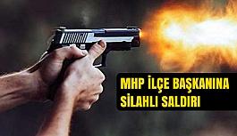 MHP Ayvacık İlçe Başkanına Silahlı Saldırı