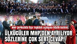 MHP Çerkezköy İlçe Teşkilatı'na Muhteşem Açılış