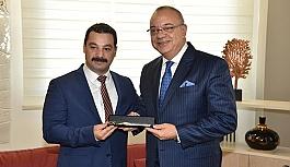 MHP İl Başkanı Öztürk'ten Cengiz Argün'e ziyaret