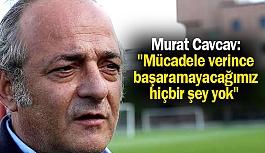 Murat Cavcav'dan Maç Sonu Basın Açıklaması