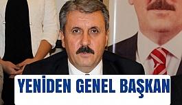 Mustafa Destici Yeniden Başkan