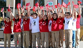 Nevşehir'de 29 Ekim Cumhuriyet Bayramı