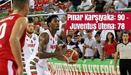 Pınar Karşıyaka: 90 - Juventus Utena: 78