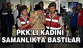 PKK'lı Kadını samanlıkta Bastılar