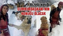 Rizeli Heidi Ankara'ya Davet Edildi