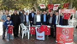 Şahinbey'de MHP'nin üye standına Büyük İlgi