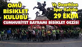 """Samsun'da """"29 Ekim Bisiklet"""" Gezisi"""