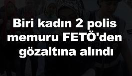 Samsun'da Biri Kadın 2 Polis Memuruna Gözaltı