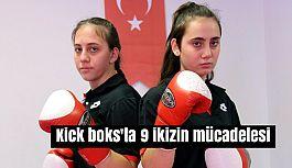 Samsun'da Kick boks'ta 9 ikizin mücadelesi