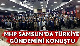 """Samsun MHP """"Teşkilat İçi Eğitim ve Bilgilendirme Toplantısı' Gerçekleştirildi"""