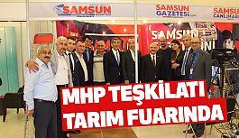 Samsun MHP Teşkilatı Tarım Fuarını Ziyaret Etti