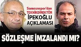 Samsunspor'da Engin İpekoğlu İle Sözleşme İmzalandı mı?