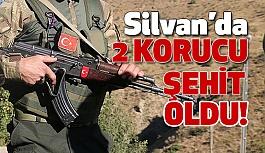 Silvan'da Hain Tuzak: 2 Güvenlik Korucusu Şehit Oldu!