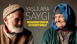 Teknolojiyle Birlikte Yaşlılara Saygı!