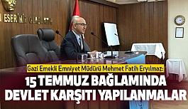 Türk Ocağında İlk Konferans: 15 Temmuz Bağlamında Devlet Karşıtı Yapılanmalar
