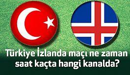 Türkiye - İzlanda Maçı Saat Kaçta?