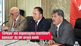 Türkiye' nin Olgunlaşma Enstitüleri Samsun' da Bir Araya Geldi