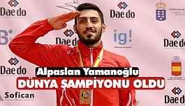Yamanoğlu, Dünya Şampiyonu Oldu