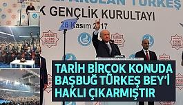 3. Gençlik Kurultayı'nda Alparslan Türkeş Damgası